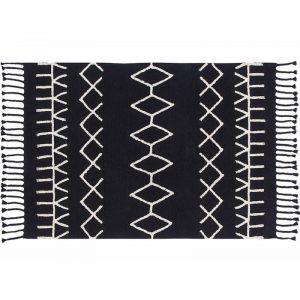 Czarno-biały dywan Bereber do prania 140x200 Lorena Canals