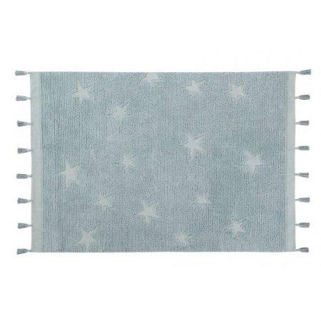 Błękitny dywan z pędzelkami do prania 120x175 Lorena Canals