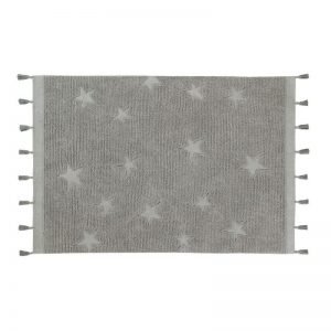 Szary dywan z pędzelkami do prania 120x175 Lorena Canals