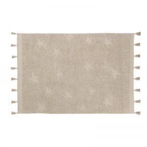 Beżowy dywan z pędzelkami do prania 120x175 Lorena Canals