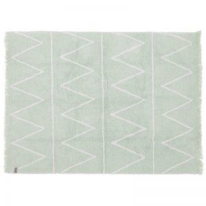 Miętowy dywan do prania 120 x 160 Hippy Lorena Canals