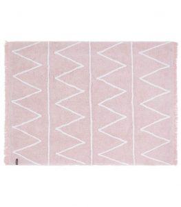 Różowy dywan do prania 120x160 Hippy Lorena Canals