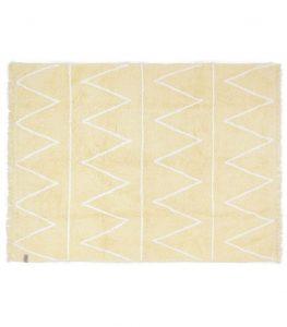 C-HY-Y Żółty dywan do prania 120x160 Hippy Lorena Canals