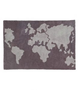 Dywan do prania Mapa Świata 140x200 Lorena Canals