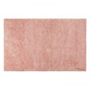 Prostokątny, różowy dywan do prania Flamenco Lorena Canals