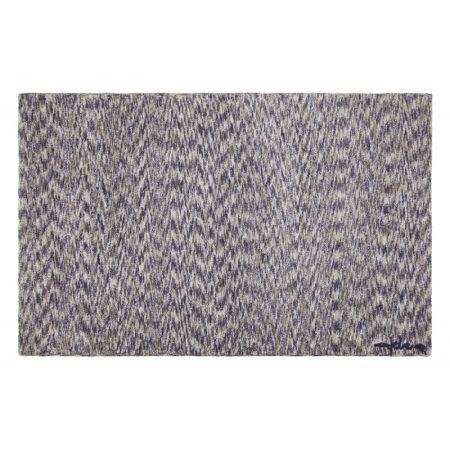 Prostokątny, Niebiesko-beżowy dywan do prania Mix Man Lorena Canals