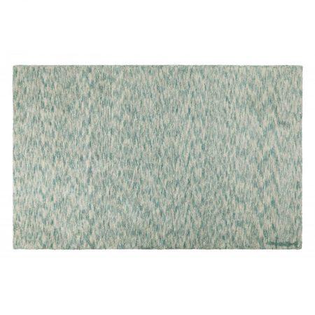 Prostokątny, miętowy dywan do prania Mix Lorena Canals