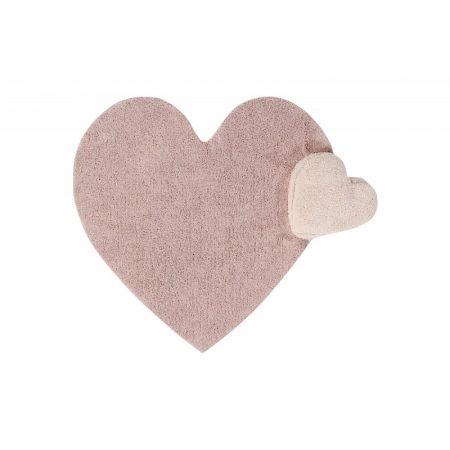 Dywanik dziecięcy z poduszką 160 x 180 Puffy Love Nude