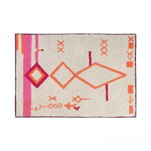 Prostokątny, kolorowy dywan do prania 140x200 Saffi Lorena Canals