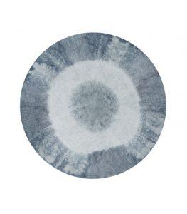 Okrągły, niebieski dywan Alfombra do prania 1500 Lorena Canals
