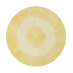 Żółty dywan do prania 1500 cm Tie-Dye Lorena Canals