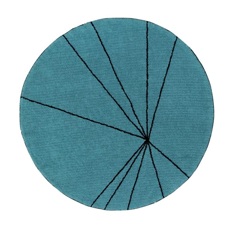 Modne ubrania Okrągły, morski dywan do prania 1600 cm Trace - Produkt - HomeSquare PP85