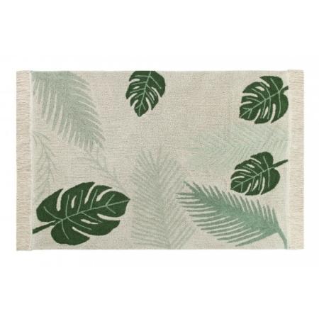 Dywan z motywem roślinnym Tropical do prania 140x200 Lorena Canals