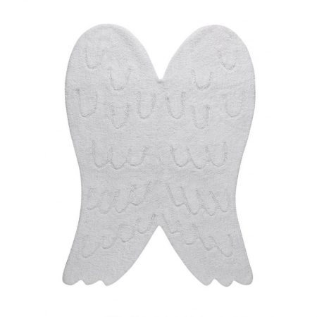 Biały dywan Anielskie Skrzydła do prania 120x160 Lorena Canals
