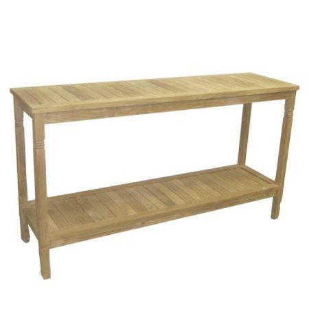 Drewniany stolik pomocniczy prostokątny Tu029-31