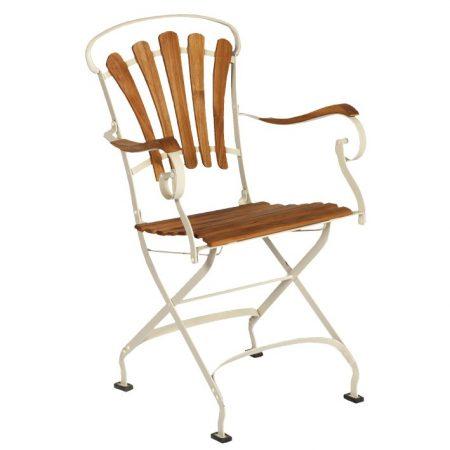 Eleganckie krzesło ogrodowe Sa308