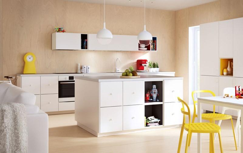 IKEA białe meble kuchenne