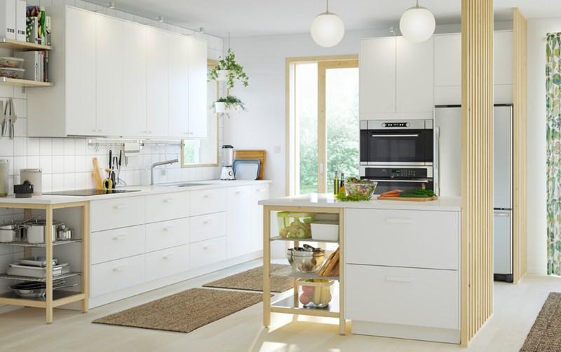 Jasna kuchnia IKEA