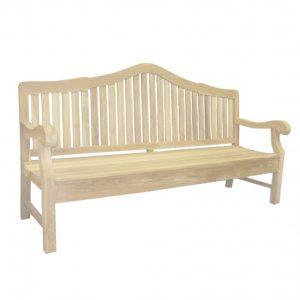 Klasyczna ławke z drewna tekowego Tu029-30