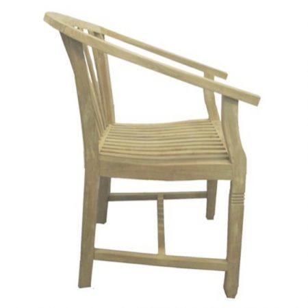 Klasyczne krzesło ogrodowe z drewna tekowego Tu029-33