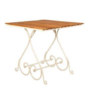 Kwadratowy stolik ogrodowy styl francuski Sa296-80