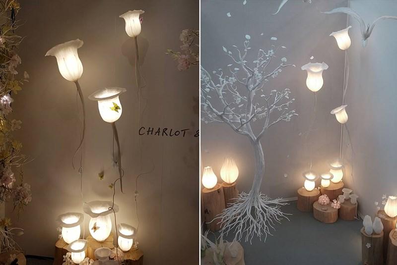 Lampy z papieru