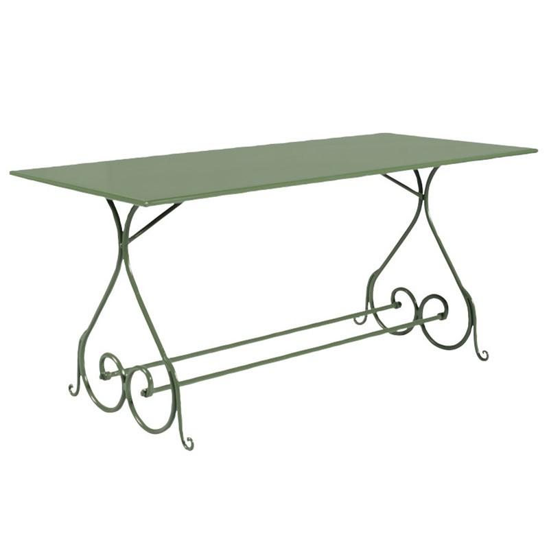 Metalowy stół ogrodowy prostokąt Sa280