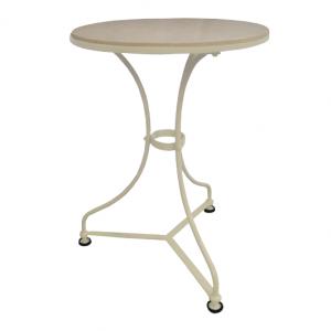 Ogrodowy stolik z marmurowym blatem Sa501
