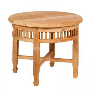 Okrągły stolik ogrodowy drewniany Tu029-22