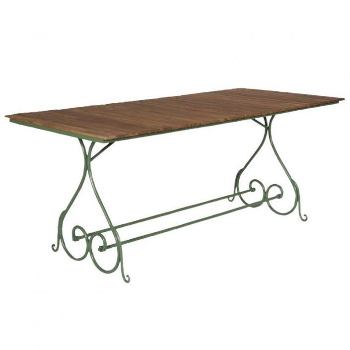 Prostokątny stół ogrodowy styl francuski Sa296-200