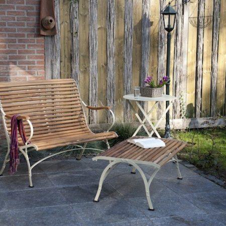 Szeroki fotel-ławka ogrodowa Sa317