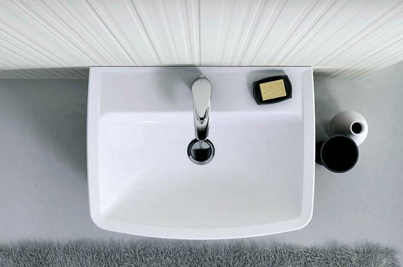 Aranżacja łazienki płytki strukturalne