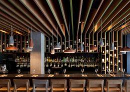 Designerskie oświetlenie w restauracji Bindella