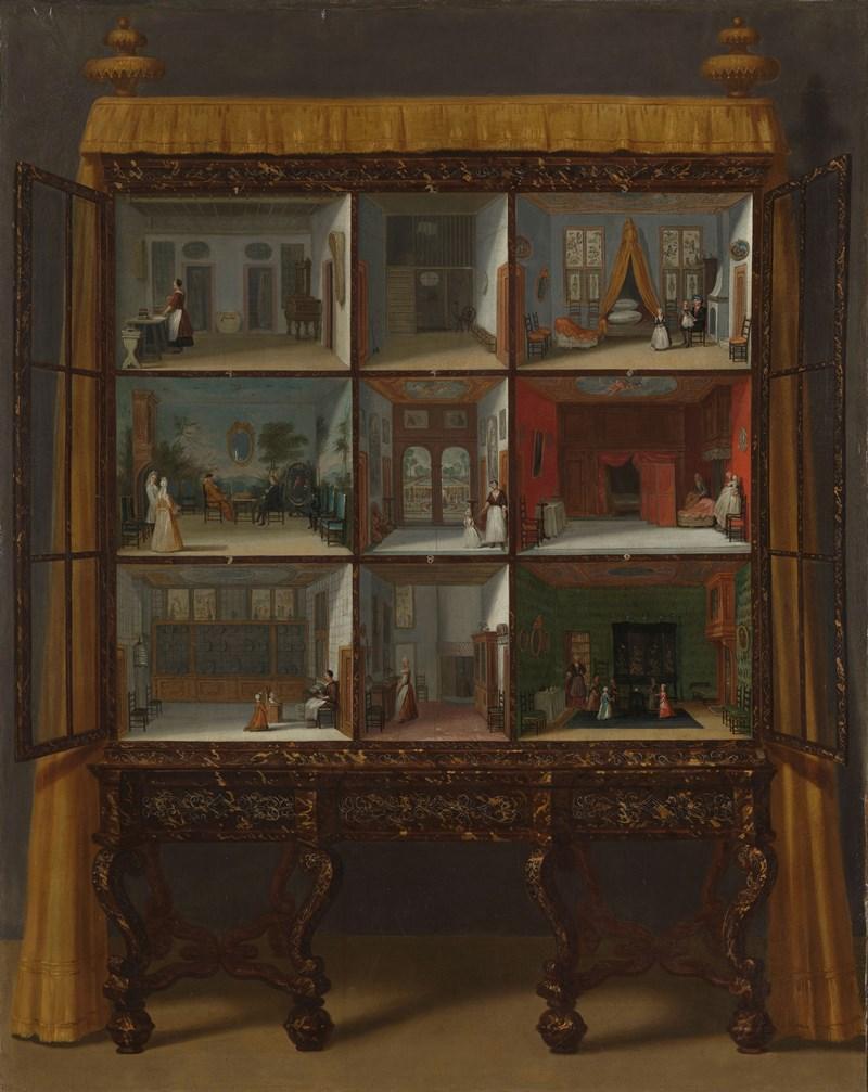 Domek dla lalek Petronelli Oortman