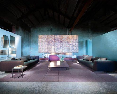 Elegancki salon w minimalistycznym stylu