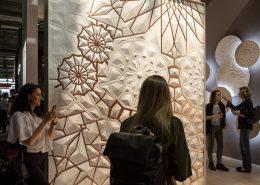 Inspiracje łazienka płytki strukturalne