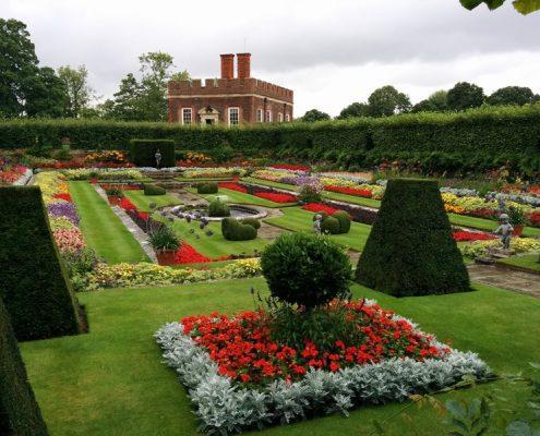 Kwiecisty, barokowy ogród