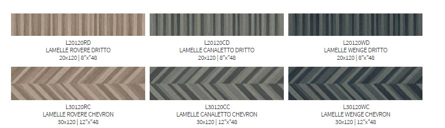 Ornamenta kolekcja Lamelle