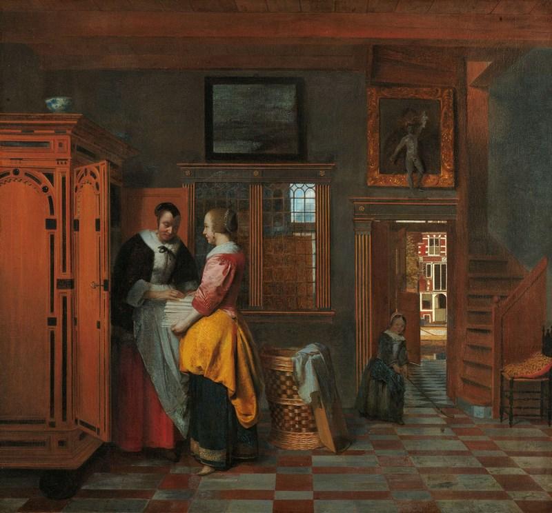 wnętrze holenderskiego domu