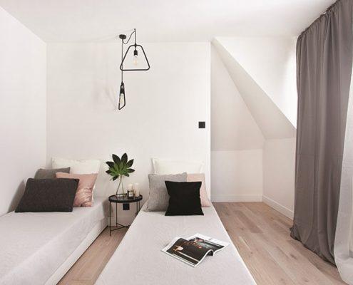 Aranażacja sypialni dla gości