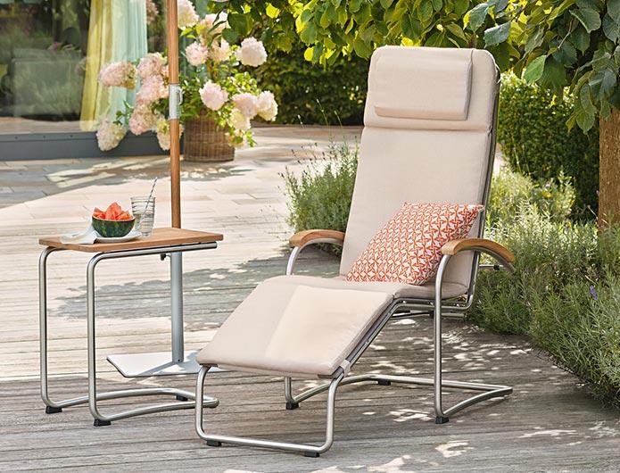 Ekskluzywny fotel ogrodowy Bolero Gewebe