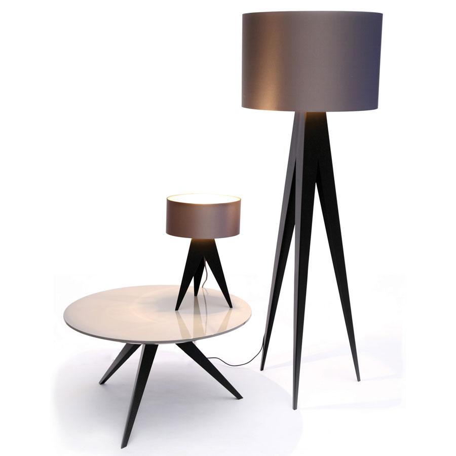Lampa na tórjnogu podłogowa i stołowa Aristo HMD