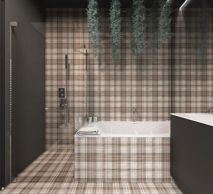 Nowoczesne płytki dekoracyjne do łazienki