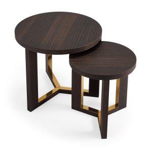 Nowoczesne stoliki pomocnicze Tri HMD