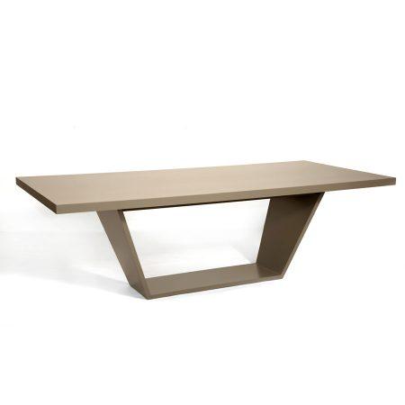 Nowoczesny prostokątny stół Trape HMD