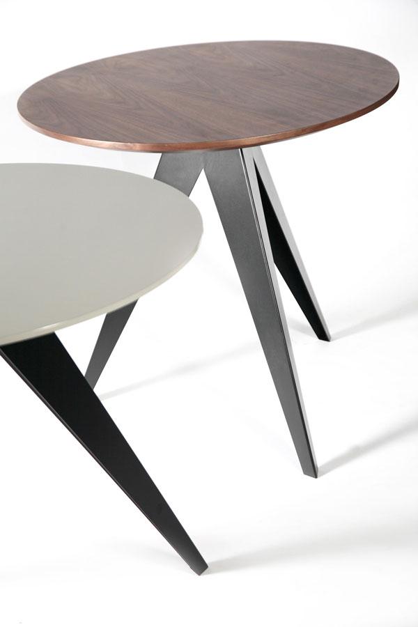Okrągłe stoły i stoliki Aristo HMD