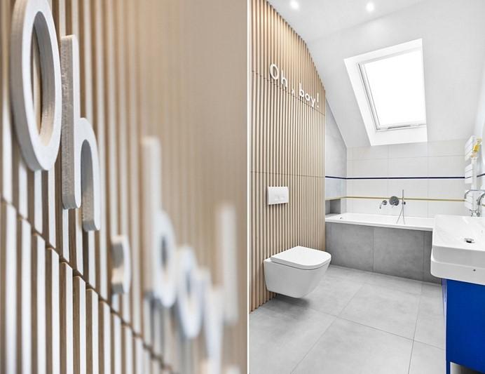 Pokój dla nastolatka z łazienką