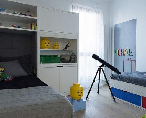 Pokój dziecięcy dla fana klocków lego