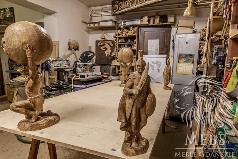 meble rzeźbione MEBLE NA ZAMÓWIENIE