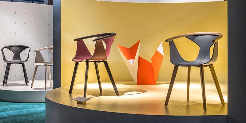 Fox krzesło Pedrali